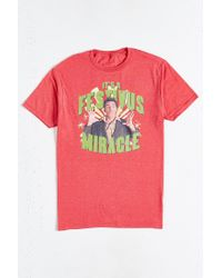 Urban Outfitters | Red Kramer Festivus Miracle Tee for Men | Lyst