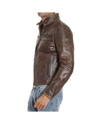 Matchless - Brown Down Jacket for Men - Lyst
