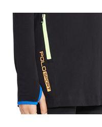Polo Ralph Lauren - Black Side-zip Funnelneck Tunic - Lyst