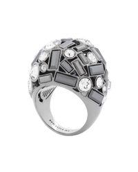 Henri Bendel | Gray Nolita Crystal Deb Ring | Lyst