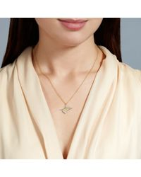 Alex Monroe - Metallic Needle And Thread Pendant - Lyst
