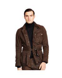 Ralph Lauren Black Label - Brown Pilot 4-pocket Field Jacket for Men - Lyst