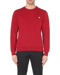 Paul Smith | Red Zebra Crew-neck Cotton Sweatshirt for Men | Lyst