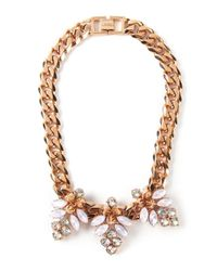 Mawi | Metallic 'Triple Firefly' Necklace | Lyst