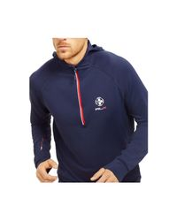 "Polo Ralph Lauren | Blue Polo Sport ""rlx"" Quick-wick Hoodie for Men 