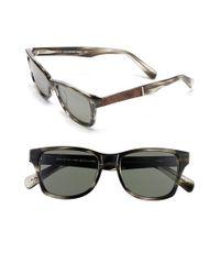 Shwood - Gray 'canby' 53mm Polarized Sunglasses - Espresso/ Elm/ Grey for Men - Lyst