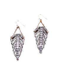 Lulu Frost - Metallic Demeter Earrings - Lyst