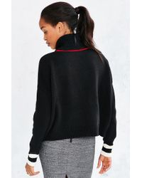 BDG - Black Varsity Turtleneck - Lyst