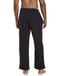 PUMA - Blue Fleece Sleep Pants for Men - Lyst