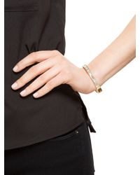 BaubleBar | Gray Crystal Baguette Bangle | Lyst