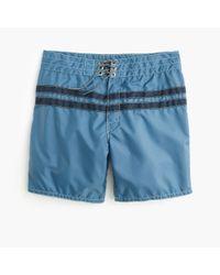 J.Crew | Blue Birdwell Board Short In Stripe for Men | Lyst