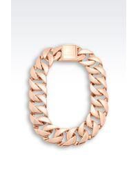 Emporio Armani - Pink Necklace - Lyst
