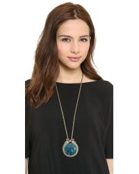 Samantha Wills | Green Roaming Existence Pendant Necklace | Lyst