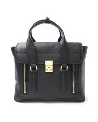 3.1 Phillip Lim - Black Medium Pashli Satchel - Lyst