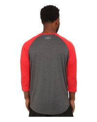 Under Armour | Gray Tech 3/4 Sleeve for Men | Lyst