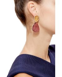 Marco Bicego | Multicolor One-Of-A-Kind Pink Tourmaline, Imperial Topaz, And Diamond Earrings | Lyst