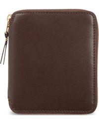 Comme des Garçons - Brown Classic Leather Wallet - For Men for Men - Lyst