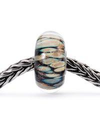 Trollbeads - Black Sterling Silver Pure Heart Lock Charm - Lyst