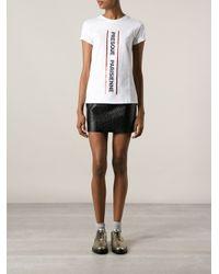 Être Cécile - White Presque Parisienne Tshirt - Lyst