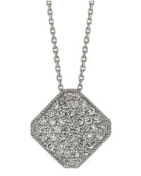 Morris & David | Metallic Diamond Pendant In 14 Kt. White Gold | Lyst