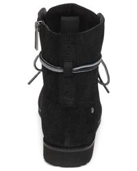 BCBGeneration | Black Dover Lace-up Boots | Lyst