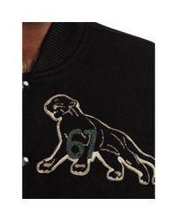 Denim & Supply Ralph Lauren - Black Wool-blend Baseball Jacket for Men - Lyst