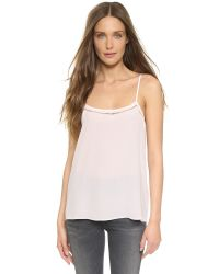 Equipment - Purple Cara Cami - Lyst