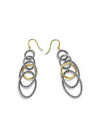 David Yurman - Metallic Mobile Chain Earrings - Lyst