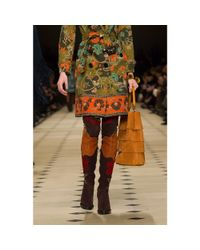 Burberry Prorsum - Multicolor Suede Over-the-knee Boots - Lyst
