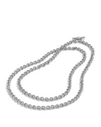 David Yurman | Metallic Cable Rolo Chain Necklace, 18"