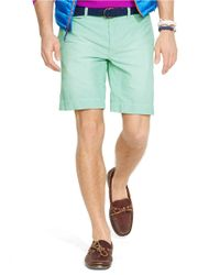 Polo Ralph Lauren | Green Classic-Fit Oxford Shorts for Men | Lyst