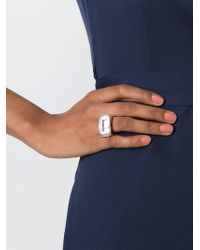 Rosa Maria | Metallic Chunky Diamond Ring | Lyst