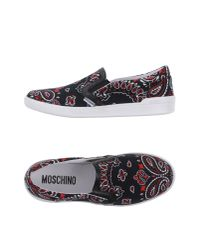 Moschino | Black Low-tops & Trainers for Men | Lyst
