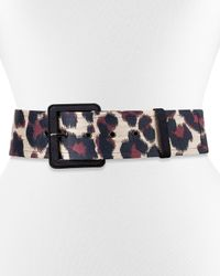 Lanvin | Natural Jale Animal Jacquard Belt | Lyst