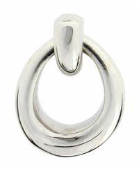 Dinny Hall - Metallic Silver Toro Stud Earrings - Lyst