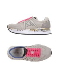 Premiata | Natural Low-tops & Trainers | Lyst
