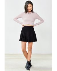 Silence + Noise | Pink Ansley Crossover Top | Lyst
