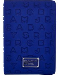 Marc Jacobs - Blue Dreamy Logo Ipad Mini Book Case - Lyst