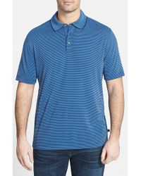 Tommy Bahama - Blue 'superfecta' Island Modern Fit Stripe Polo for Men - Lyst