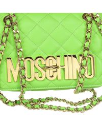 Moschino - Green Handbag - Lyst