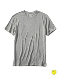 Banana Republic | Gray Factory Fitted Crew-neck Tee for Men | Lyst