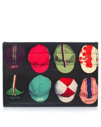 Paul Smith | Black Leather Cycle Cap Card Holder for Men | Lyst