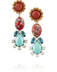 DANNIJO | Multicolor Solstice Earrings | Lyst