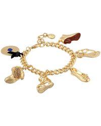 Sam Edelman - Metallic Charming Bracelet - Lyst