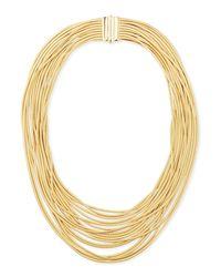 Marco Bicego | Metallic Cairo 18k Seventeen-strand Necklace | Lyst