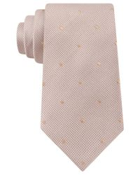 Sean John - Natural Dot Unsolid Solid Tie for Men - Lyst