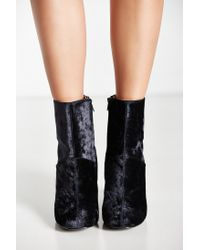 Urban Outfitters - Gray Liza Heeled Boot - Lyst