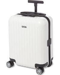 Rimowa - White Salsa Air Four-wheel Mini Suitcase 43cm for Men - Lyst