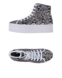 Jeffrey Campbell - Gray High-tops & Sneakers - Lyst