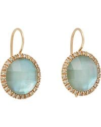 Roberto Marroni - Pink Gemstone Drop Earrings - Lyst